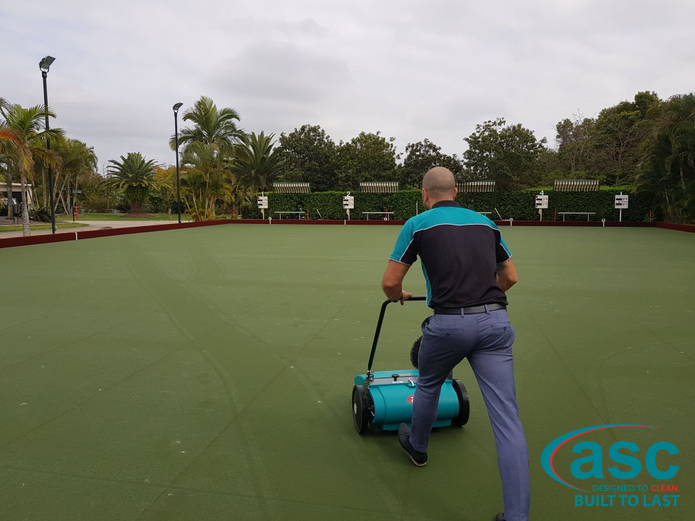 Home Park Management Services Using ASC MEP Sweeper 4