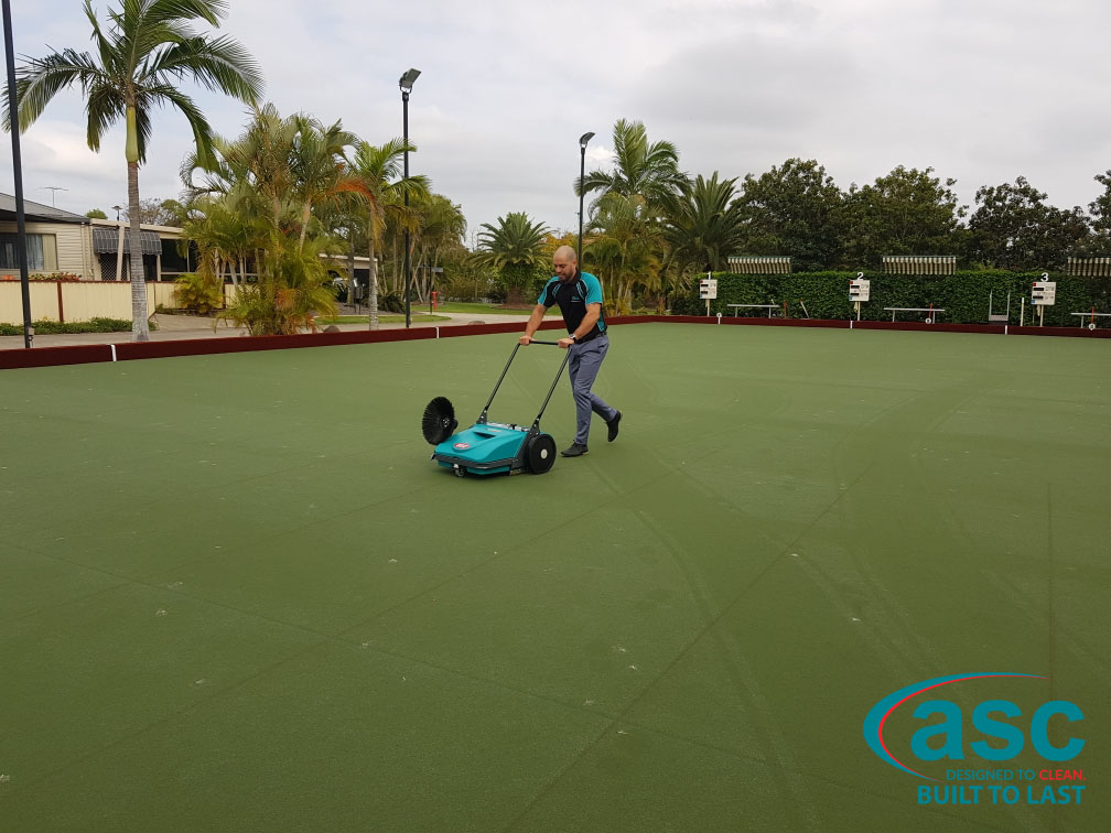 Home Park Management Services Using ASC MEP Sweeper 7