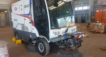 Rio Tinto Weipa (Qld)  recently invested in a ASC Dulevo 3000 sweeper for their new $1.9 billion dollar Amrun project