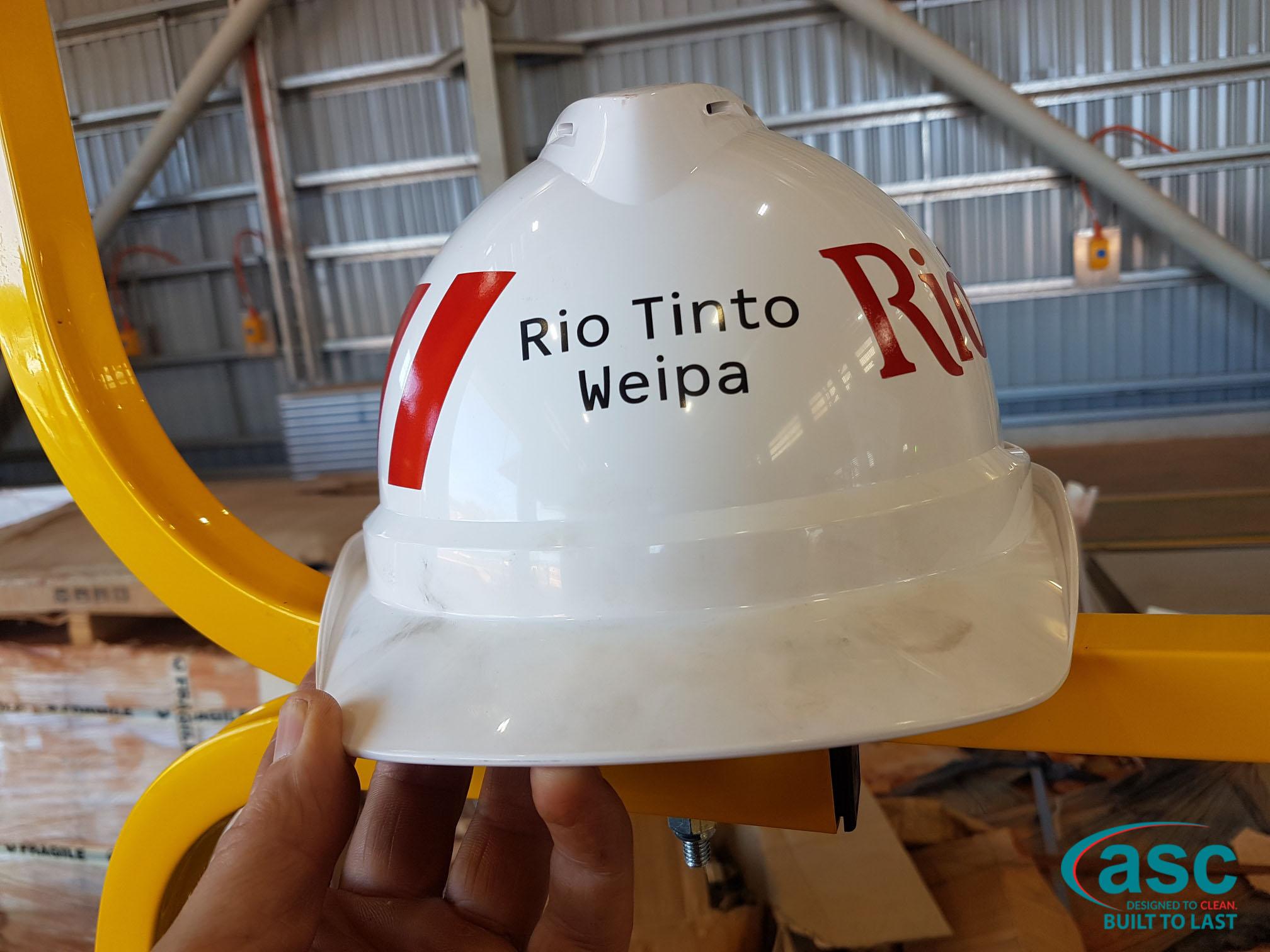 Rio Tinto Weipa Helmet