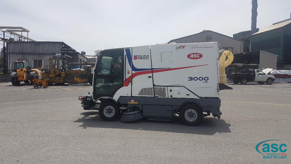 ASC Dulevo 3000 Sweeper At Bell Bay Facility 2