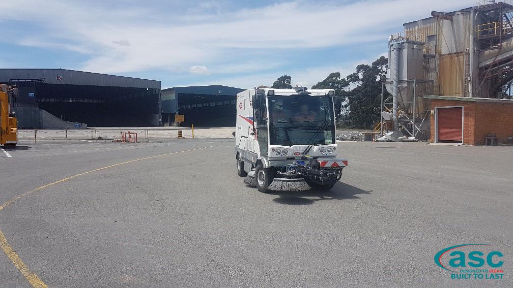 ASC Dulevo 3000 Sweeper At Bell Bay Facility 3