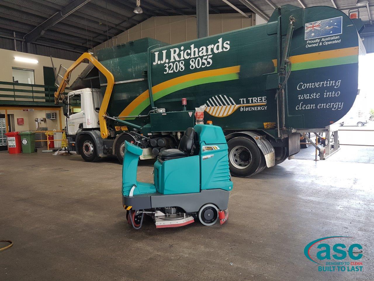 ASC M3 Sweeper At J.J. Richard's Facility