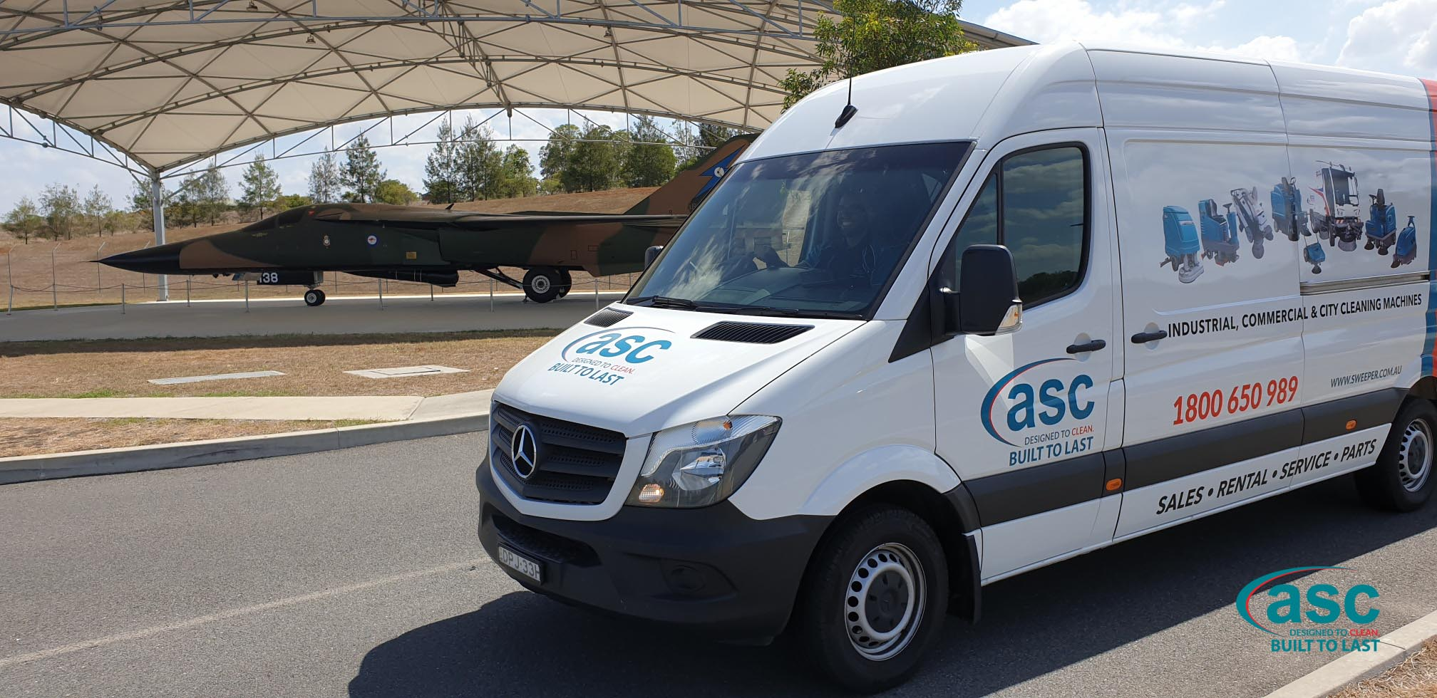ASC At The RAAF Amberley Hangers