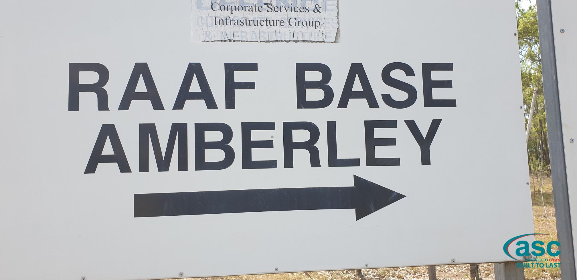 RAAF Base Amberley Sign