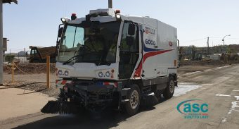 Mount Isa Mines Adhere To Strict EPA Rules & Keep Employees Safe With ASC Sweeper