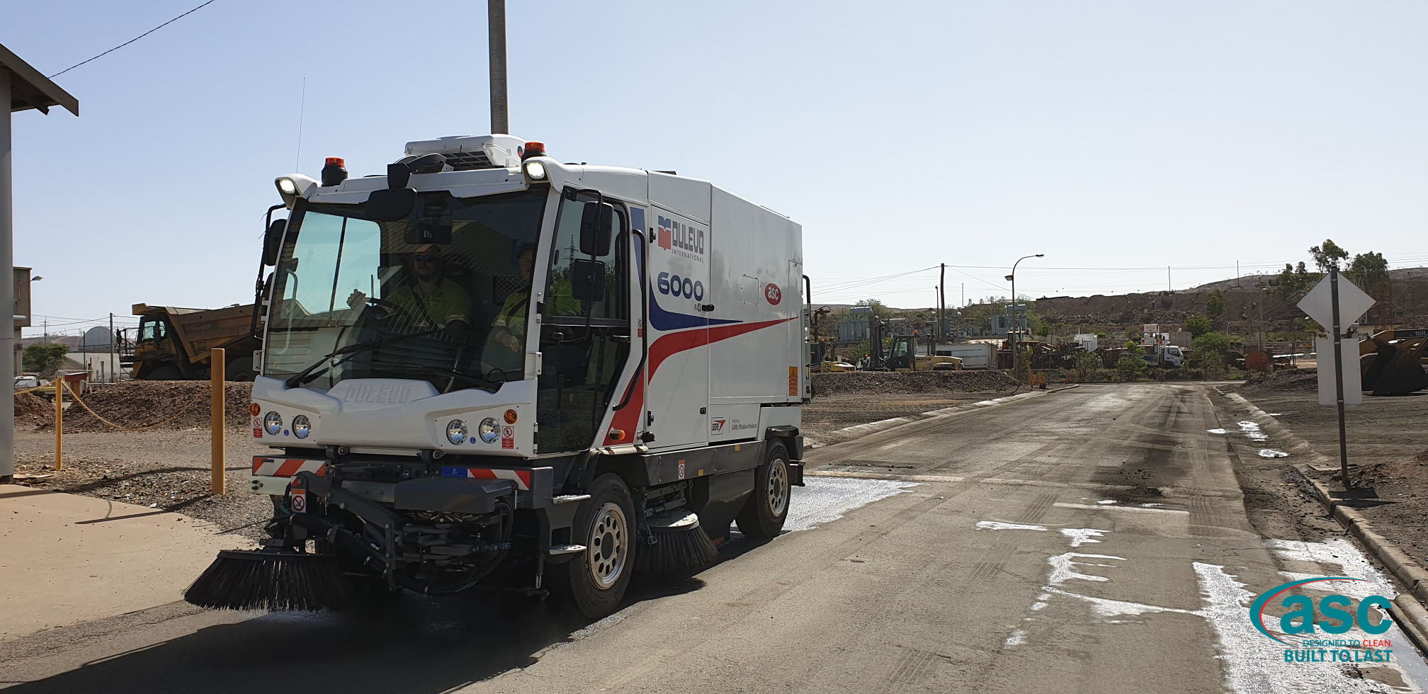 ASC D6000 Sweeper At Mount Isa Mines 2