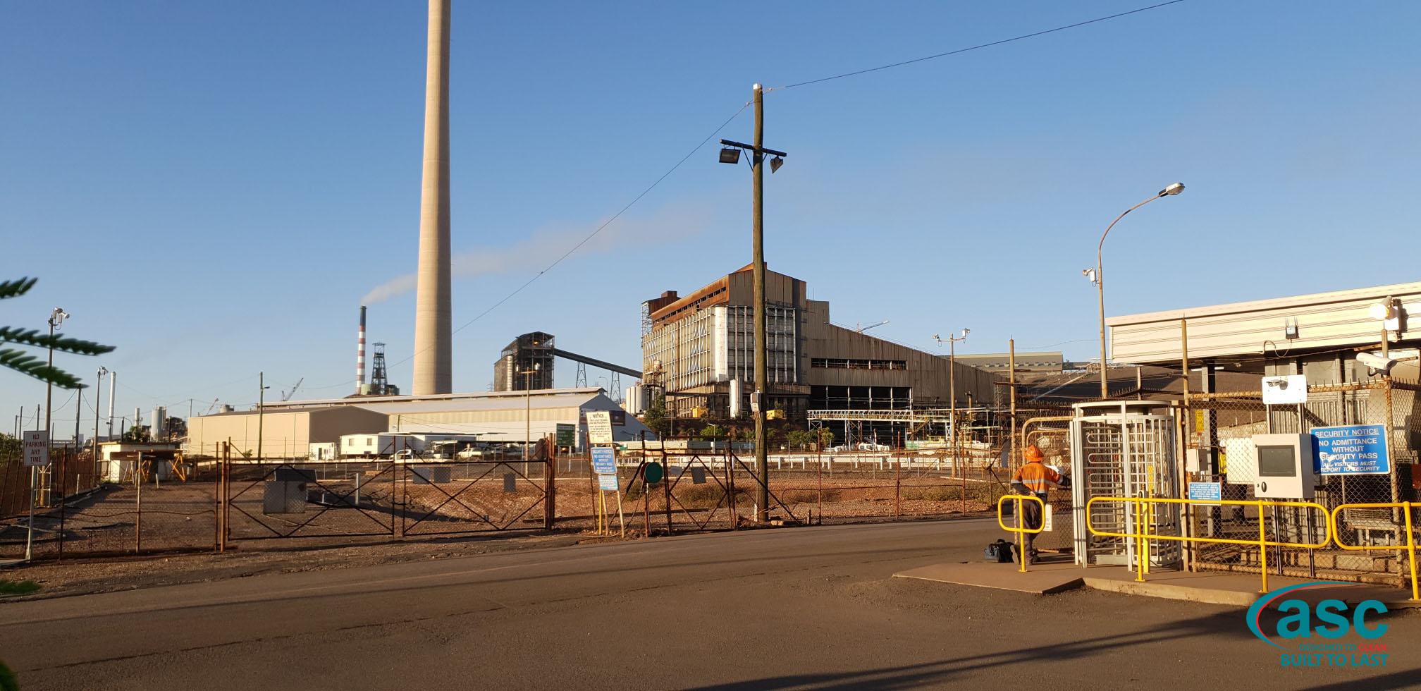Mount Isa Mines' Facility