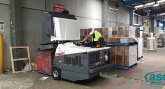 ASC recently installed a Dulevo 120 to PMP Print, Sydney's larges print media company.