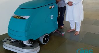 The Melbourne Sikh Temple in Craigieburn (Victoria)  has invested in another ASC Eureka scrubber