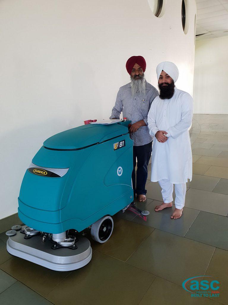 ASC Eureka E 81 Scrubber At The Sikh Temple