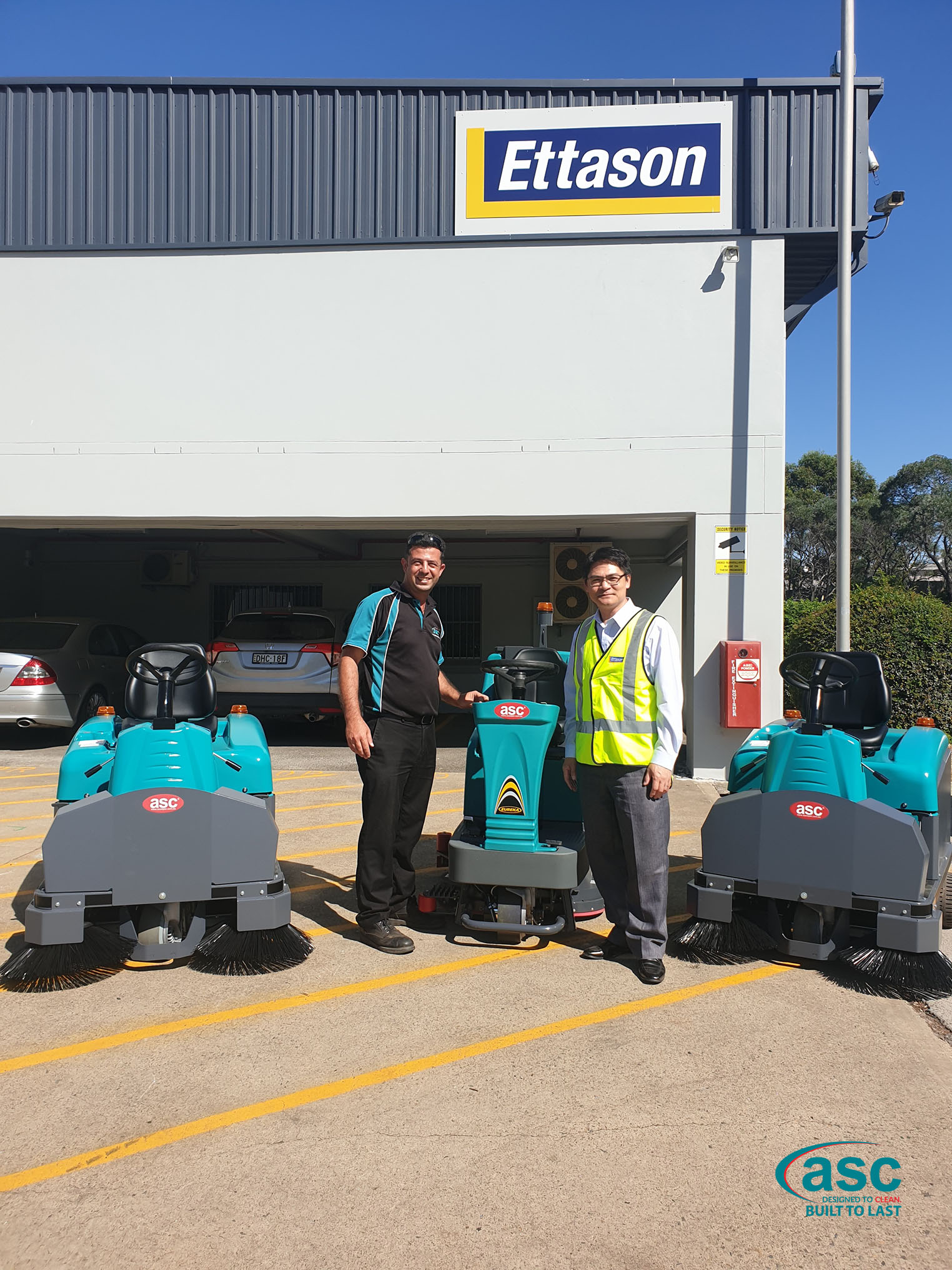 ASC's Sweepers & Scrubbers At Ettason