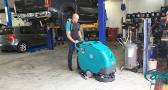 SuperCool Group of Companies invests in an ASC Eureka E 50 auto scrubber