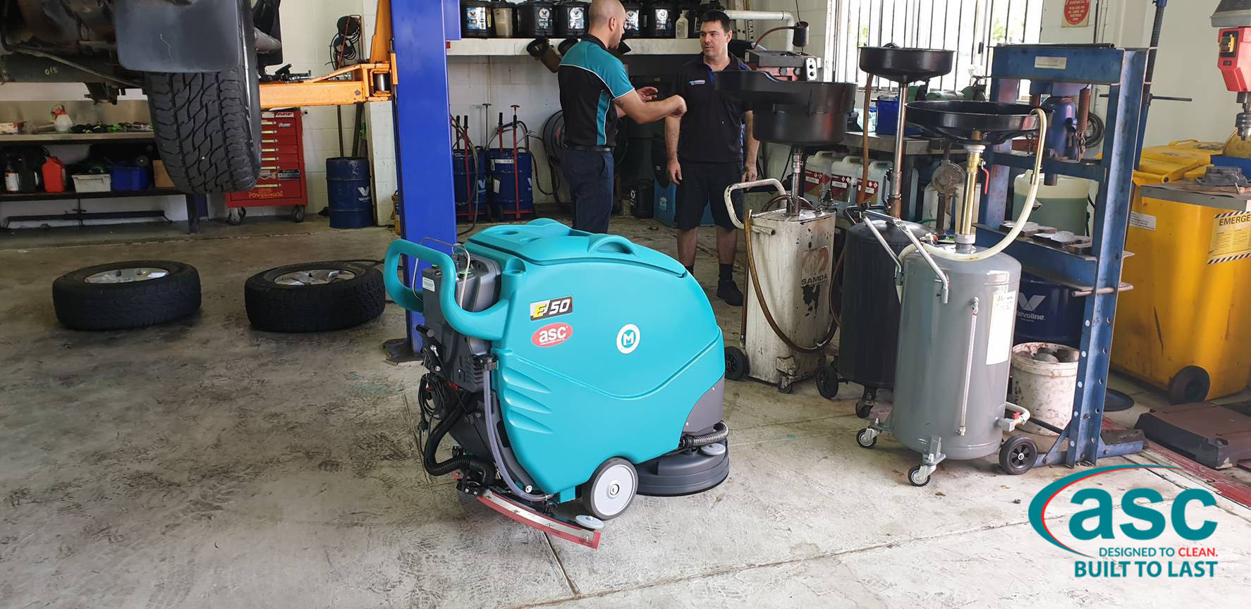 ASC Eureka E 50 Scrubber At SuperCool's Warehouse 4