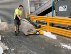 ASC Power Vac Helped Nicson's Facility Get Rid Of The Polystyrene Buildup