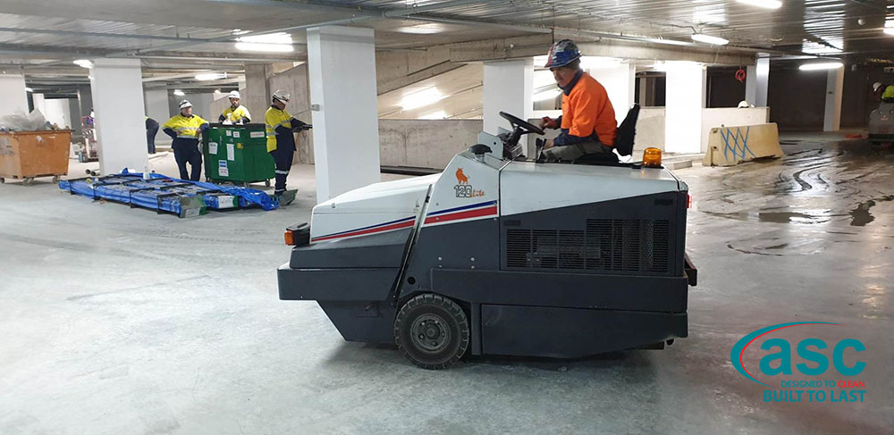 ASC Dulevo 120 Sweeper At CIC Canberra's Facility 1