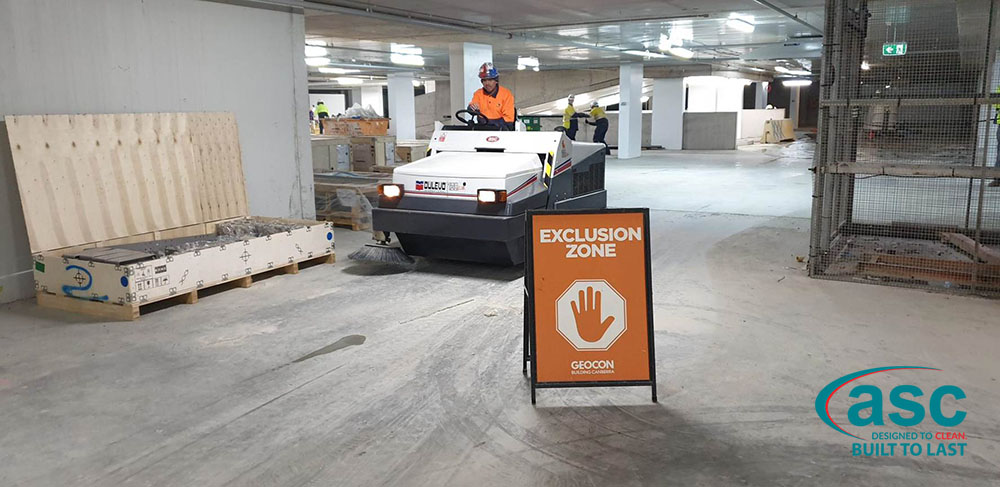ASC Dulevo 120 Sweeper At CIC Canberra's Facility 3
