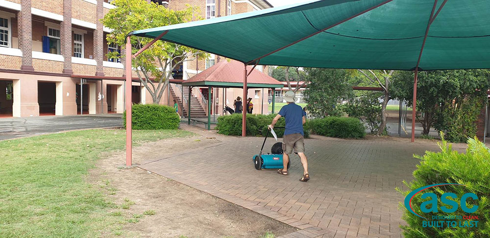 ASC MEP Push Sweeper At Junction Park State School 3