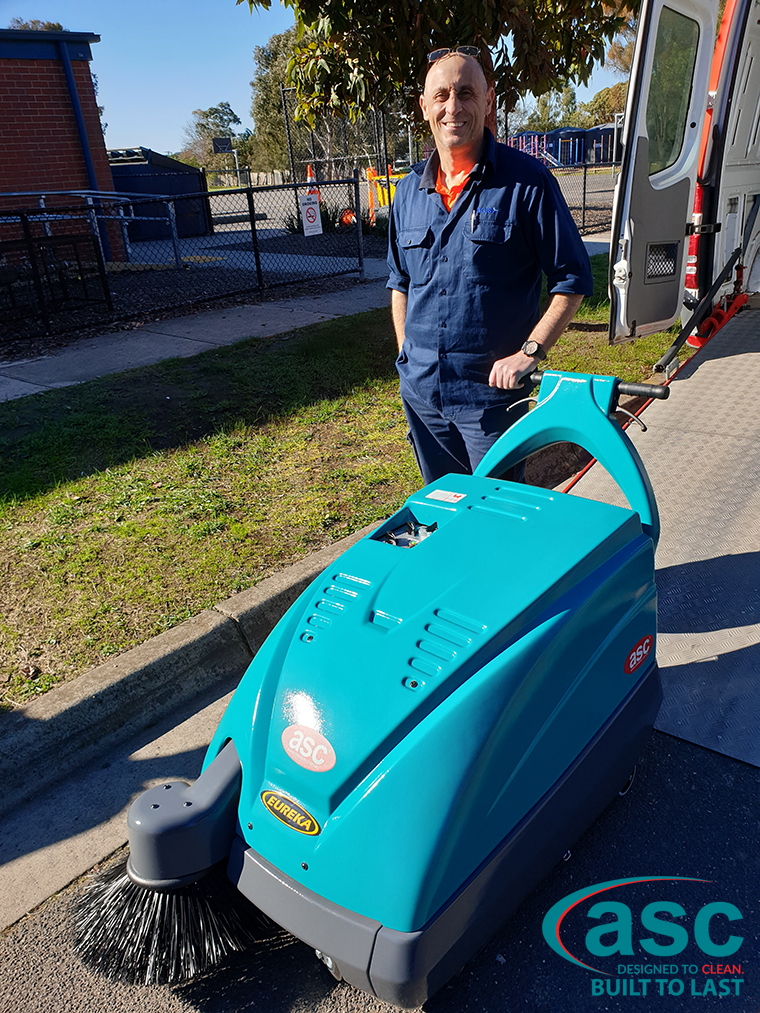 ASC M1 Sweeper At Greenvale Primary State School