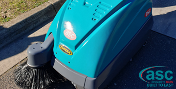 Melbourne Greenvale primary State School invents in a ASC M1 sweeper.