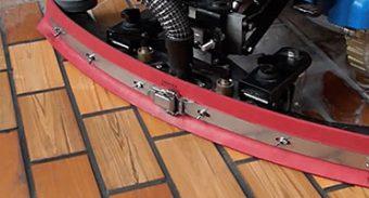 Linatex Floor Scrubber Squeegee