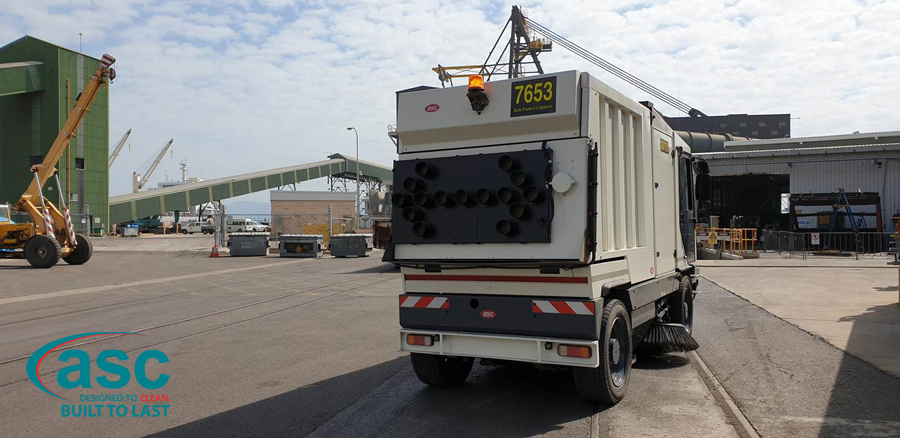ASC D5000 At Port Of Townsville 1