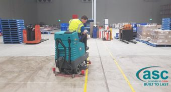 ASC Machine Solved The Quick Accumulating Dust Problem For Lion QLD