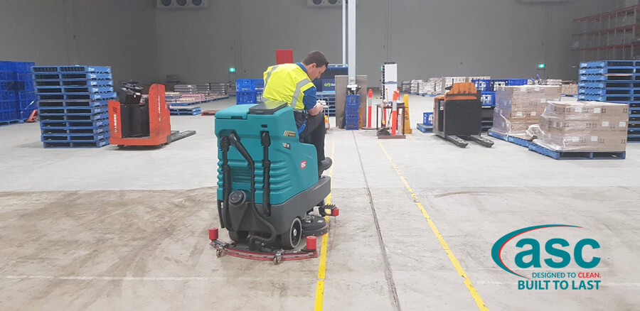 ASC E 75 Floor Scrubber At Lion QLD 2