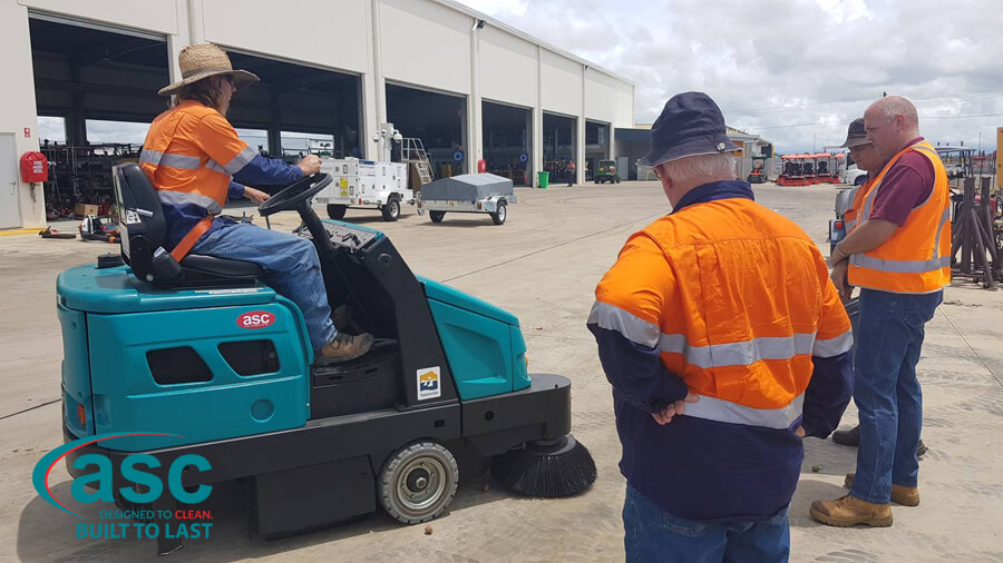 ASC M6 Sweeper At Magnetic Island Council 2