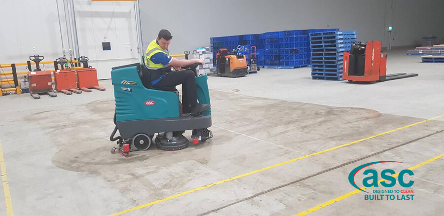ASC E 75 Floor Scrubber At Lion QLD 1