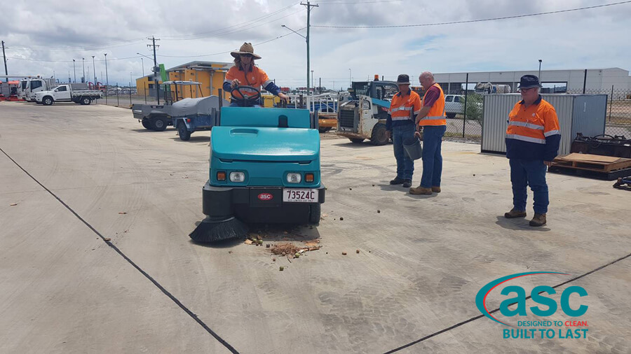 ASC M6 Sweeper At Magnetic Island Council 3