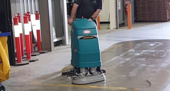Legacy Packaging Loves Their ASC Eureka Floor Scrubber