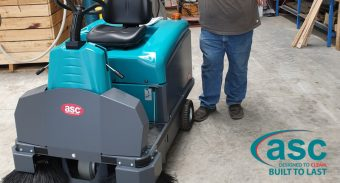 Heavy Duty ASC M3 Sweeper – High Quality Equipment to Eliminate Build Up of Dust & Debris