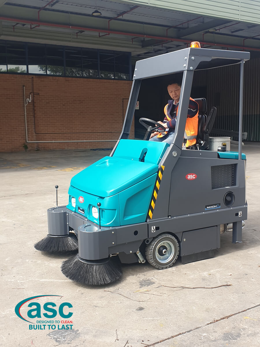Heavy Duty ASC dust free Eureka M6 LPG sweeper 2