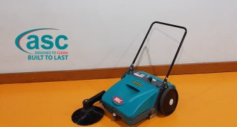 Albany Senior high School WA Welcomes ASC MEP Push Sweeper
