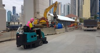 Construction Site Cleaning With ASC