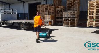 ASC MEP Sweeper Instantly Resolved Thermakraft's Cleaning Issue