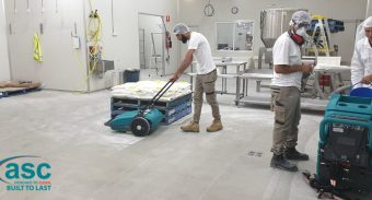 ASC MEP Sweeper Increased The Cheesecake Shop Productivity by 10 Times
