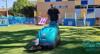 Sydney's Maronite College invest in a ASC M1 Astro Turf Sweeper