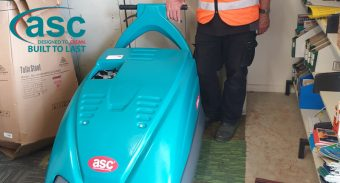 ASC M1 Sweeper – Cleaning Machine for Astro Turf Grass