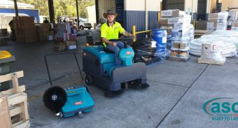 Shoreline Freighters Pty Ltd (Coffs harbor ) invest in great housekeeping with ASC