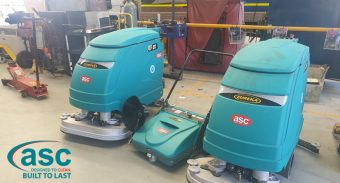 ASC MEP Sweeper Provided an Instant Solution to the Debris Issue