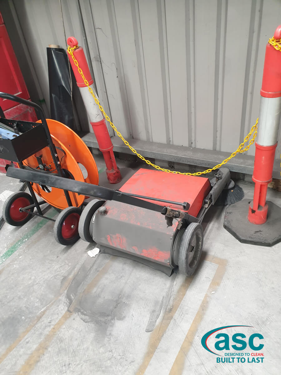 Push Sweeper At Csr Lightweight Systems