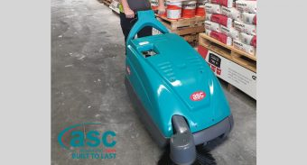 ASC M1 Sweeper – Solution to the Dust & Chalk Problem