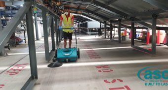 Landon Group help Toll keep their facility clean with another ASC