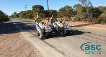 TLAP Chooses ASC 125 Footpath Sweeper to Keep the City Cleaner