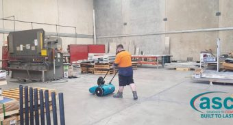 Heka Hoods Find ASC MEP The Best Dust Solution For Their Warehouse