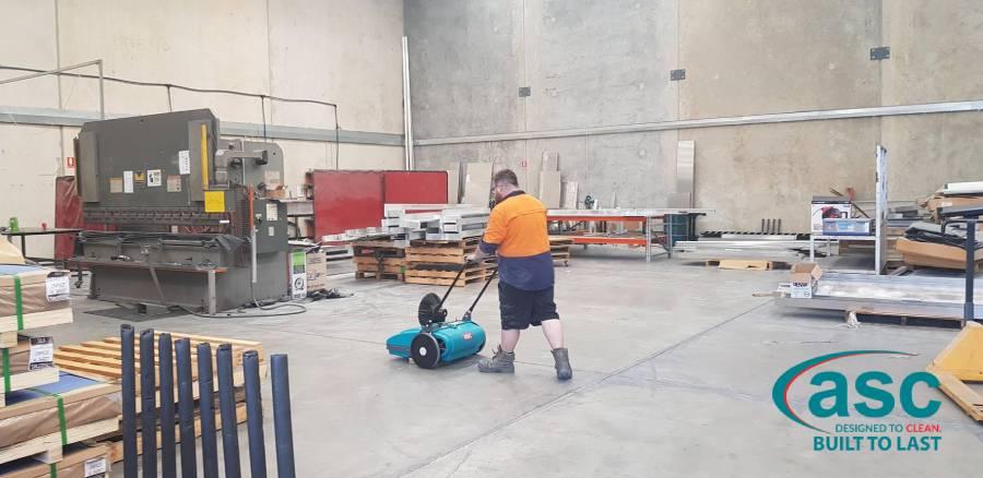 ASC Floor Scrubber 1