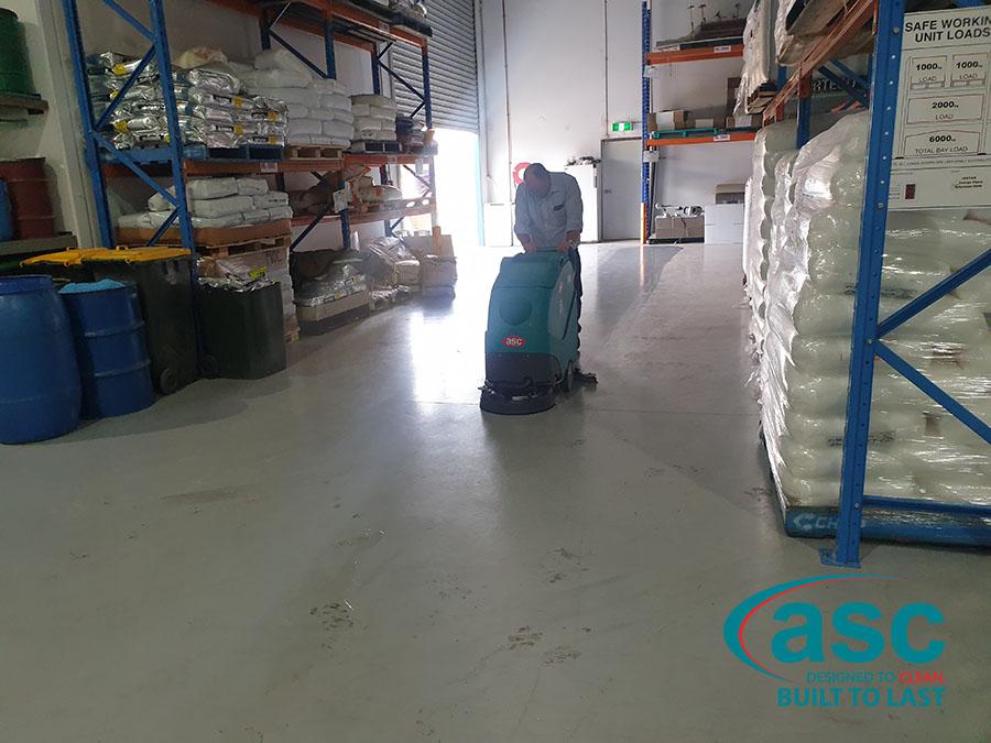 ASC Eureka E50 Floor Scrubber 1