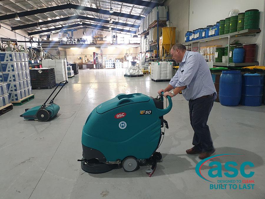 ASC Eureka E50 Floor Scrubber 2